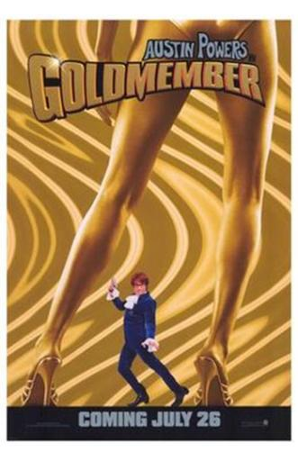 Austin Powers in Goldmember Movie Poster (11 x 17) EAP0DMBJ5FQXWWX7