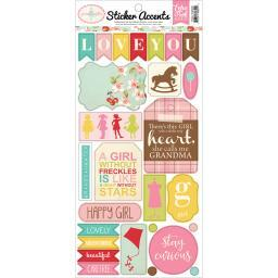 """Granddaughter Stickers 6""""X13""""- SW8301"""