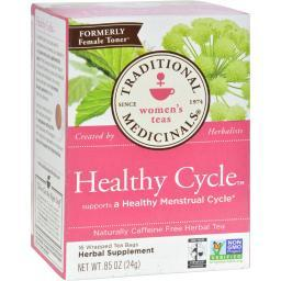 Traditional Medicinals Female Toner Herbal Tea - 16 Tea Bags - Case of 6