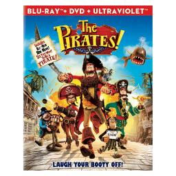 Pirates-band of misfits blu ray/dvd combo 2pk (dol dig 5.1/ws/2.35) BR39988