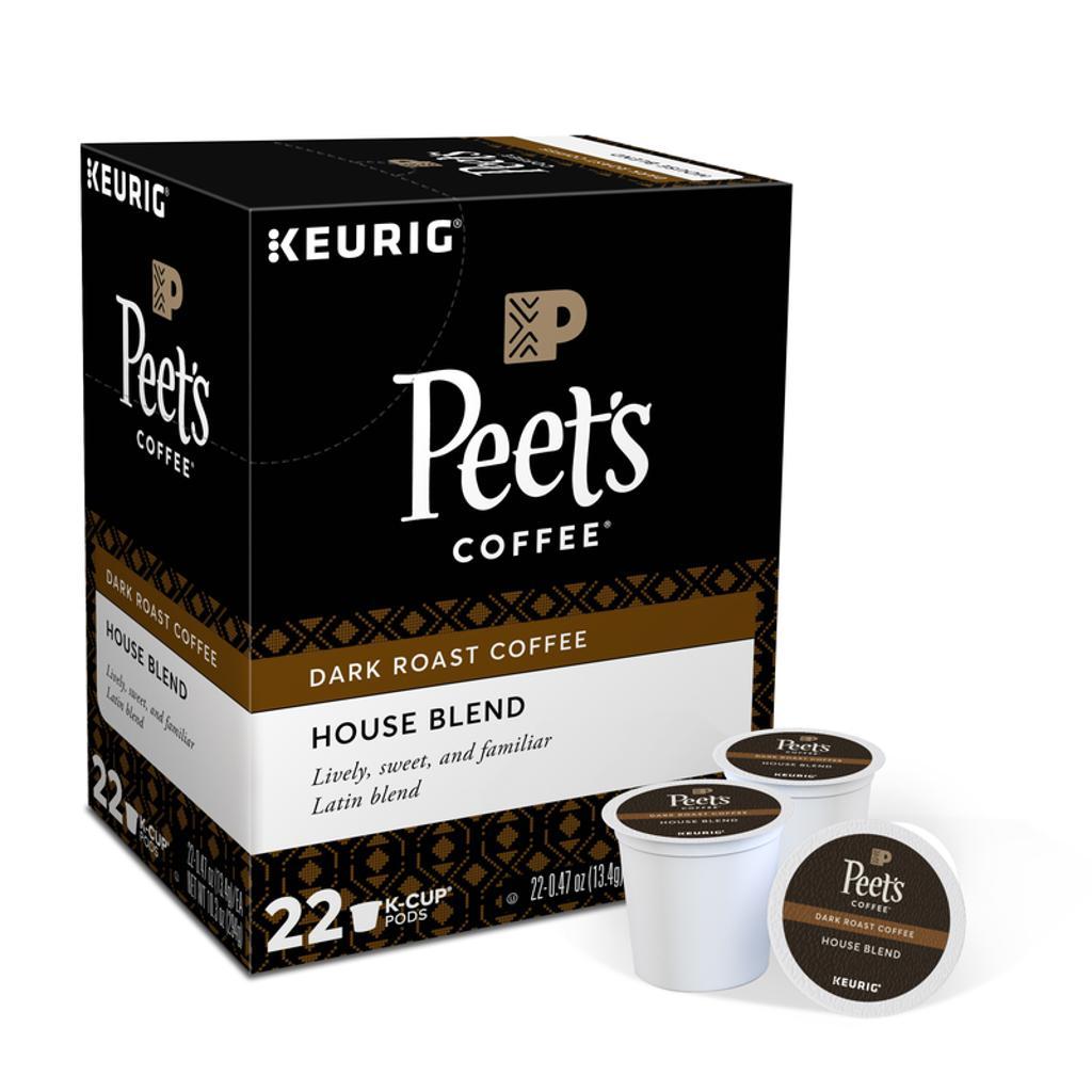 Keurig Peet's House Blend Coffee K-Cups 22 pk - Case Of: 1;
