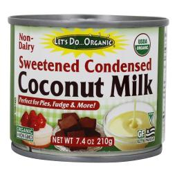 Let's Do...Organic - Sweetened Condensed Coconut Milk - 7.4 fl. oz.