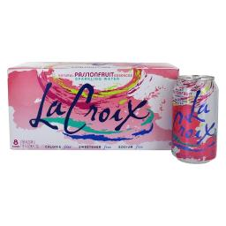 LaCroix - Naturally Essenced Sparkling Water Passionfruit