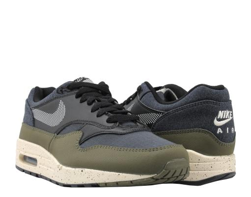 finest selection 08dce 7f0a2 Nike Air Max 1 SE Medium OliveLight Cream-Black Mens Running Shoes  AO1021-200