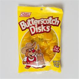 Regent Products 36001 Hard Candy Butterscotch Disks - Pack of 12