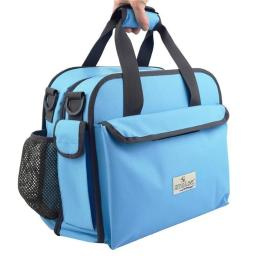 Anna & Eve LC-0003 The Life Changer Diaper Bag & Portable Lap Changing Station, Sky Blue