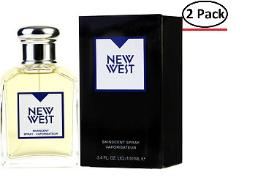 NEW WEST by Aramis EDT SPRAY 3.4 OZ (NEW PACKAGING) for MEN ---(Package Of 2)