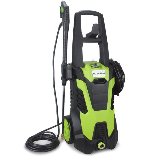 Arksen© 3000 PSI Electric Pressure Washer, Built in Soap Dispenser, (5) Nozzle Adapter Kit