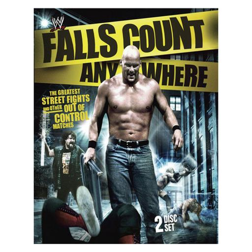Wwe-falls count anywhere matches (blu-ray/2 discs) 1283672