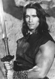 Conan Holding Sword, Conan the Destroyer Photo Print GLP346294