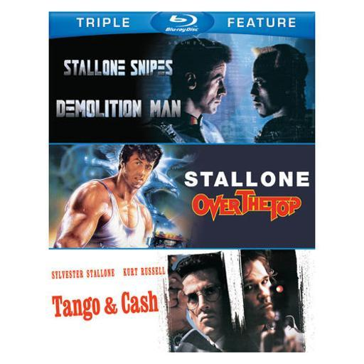 Sylvester stallone-tfe (blu-ray/demolition m/over the top/tango & cash) OYD7BQ8KEUXISTWM