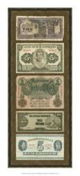 Foreign Currency Panel I Poster Print by Vision studio (9 x 21) OWP65511P