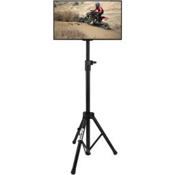 Pyle home(r) ptvstndpt3215 portable tripod lcd flat panel tv stand (for tvs up to 32)