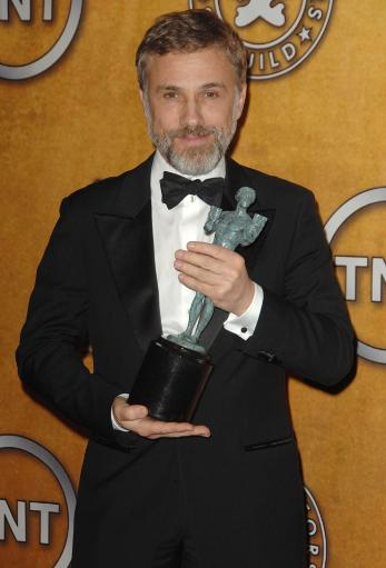 Christoph Waltz In The Press Room For 16Th Annual Screen Actors Guild Sag Awards - Press Room, Shrine Auditorium, Los Angeles, Ca January 23.