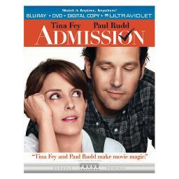 Admission blu ray/dvd combo pack w/digital copy/uv/2discs) BR62124496