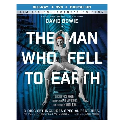 Man who fell to earth (1976) (blu ray/dvd w/digital hd) (ws/eng/2.0) 8FS7WGNZL3OPITTC