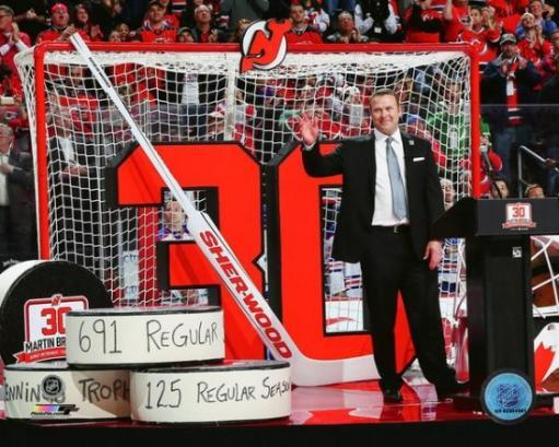Martin Brodeur jersey retirement ceremony- February 9, 2016 Photo Print DPBEIWV2FZ9GEDIS