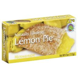 JJ's Bakery Lightly Glazed Snack Pies 4oz (Pack of 6) (Lemon)
