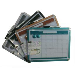 "Creative Colors Dry Erase Calendar Board - 11""X14"" - Assorted Colors"