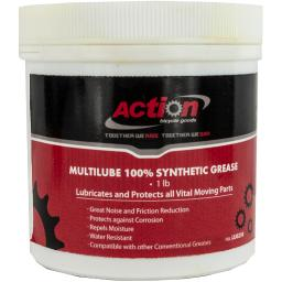 Action multilube synthetic water resistant 1lb. jar grease