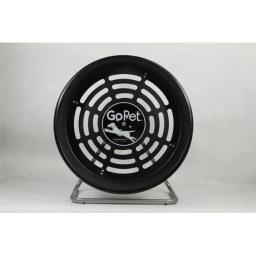 GoPet CG4012 Dog powered Tread Wheel - Small - Toy Breed - black