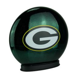 Green Bay Packers Indoor LED Glass Globe Accent Lamp