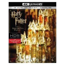 Harry potter & the half blood prince (blu-ray/4k-uhd/digital hd) BR631104