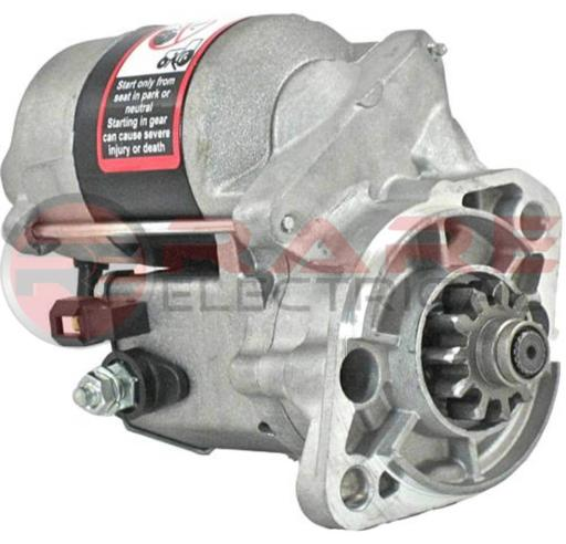 NEW CCW STARTER MOTOR FITS KUBOTA TRACTOR COMPACT Z1300 15109-63012 1510963012