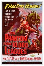 The Phantom From 10,000 Leagues Movie Poster Print (27 x 40) MOVIF0294