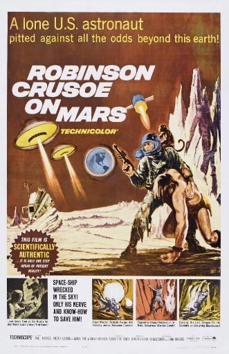 Robinson Crusoe On Mars Us Poster Art 1964 Movie Poster Masterprint ZFGDMNITYE8G91A0