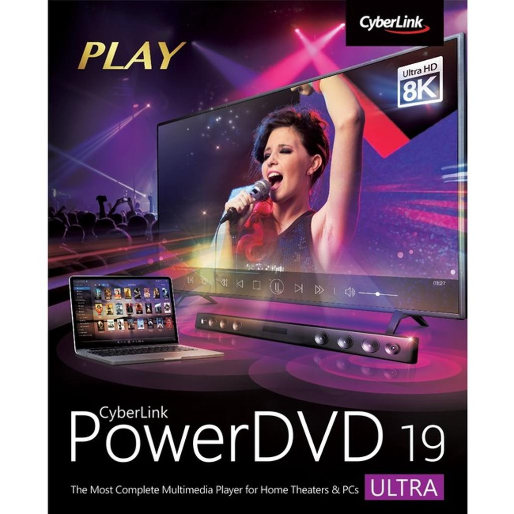 Cyberlink dvd-ej00-rpu0-01 powerdvd 19 ultra