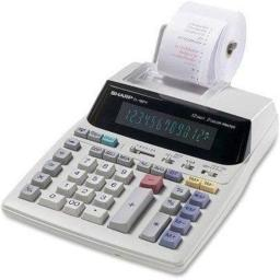 Victor Technology EL-1801V Printing Calculator - White