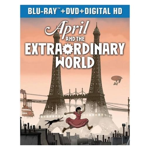 April & the extraordinary world (blu ray/dvd combo) (2discs) FQG1VLPE3BEJP3ZT