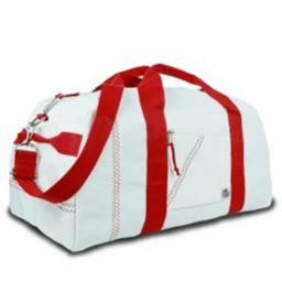 Sailor Bags 209-R Lg. Sq. Duffel  Red