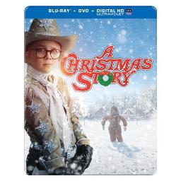 CHRISTMAS STORY (BLU-RAY/DVD/UV/30TH ANNIVERSARY/STEELBOOK) 883929357697