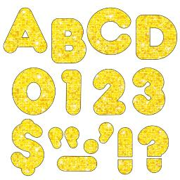 Trend (3 pk) ready letters 3in yellow