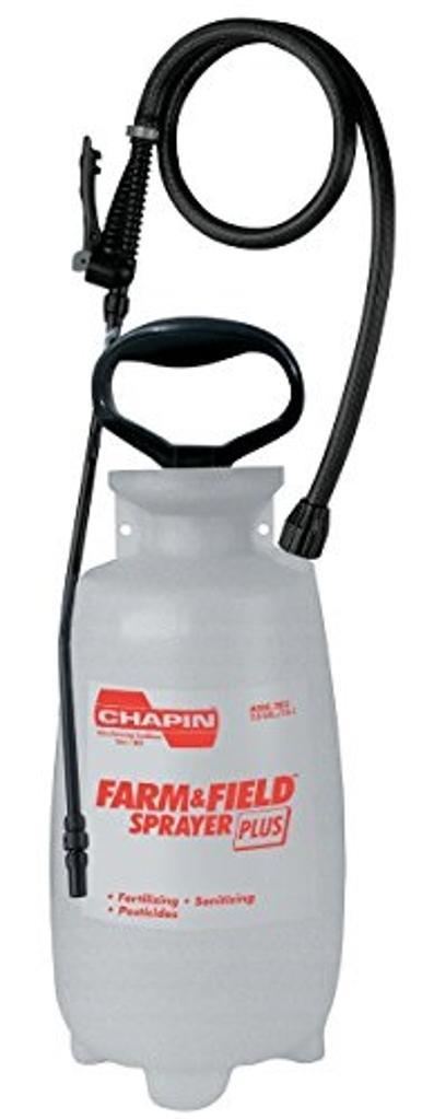Chapin International Chapin Farm and Field 2-Gallon Poly Sprayer Plus 2802E, 2 Gallon, Gray