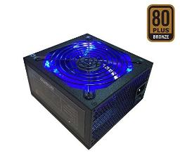 Apevia ATX-JP600W Jupiter 600W 80 Plus Bronze Certified Active PFC ATX Gaming Power Supply, Supports Dual/Quad Core CPUs, SLI/Crossfire/Haswell, 3 Year Warranty