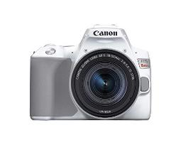 Canon Eos Rebel Sl3 Digital Slr Camera With Efs 1855Mm Lens Kit Builtin Wifi Dual Pixel Cmos Af And 30 Inch Variangle Touch Screen White