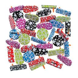 Fun Express Metal Noisemaker Asst (50pc) Toys and Sporting Event and Party Noisemakers