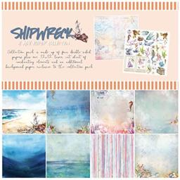 49 AND MARKET S-31801 Shipwreck Collection 12X12 Pack