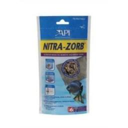 API Nitra-Zorb Filter Media Pouch 7.4 Ounces Size 6 Removes Aquarium Toxins (2 Pack)