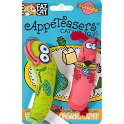 Petmate 650027 Bamboo Appeteasers Catnip Toy Assorted Styles 2 Count
