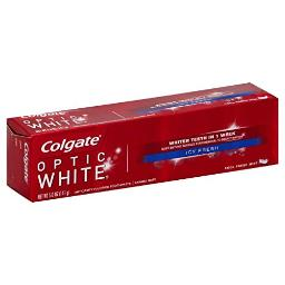 Colgate Optic White Toothpaste, Icy Fresh, 5 Ounce (Pack of 6)