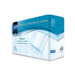 Inspire Premium Incontinence Panty Liners, 7 Inches X 17 Inches, 250 Count