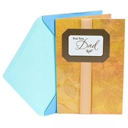 Hallmark Father's Day Card for Dad (Golden Leaves You Are Appreciated and Loved)