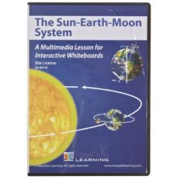Site License: Multimedia Lesson for Interactive Whiteboards, Sun-Earth-Moon, (78691)