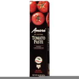 Amore Italian Tomato Paste -- 4.5 oz (Pack of 48)