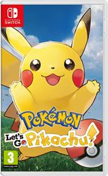 Nintendo Switch Pokemon Let's Go, Pikachu!