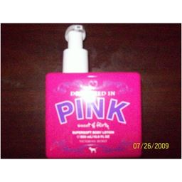 Victoria's Secret Drenched in PINK Sweet & Flirty Supersoft Body Lotion 16.9 oz (500 ml)